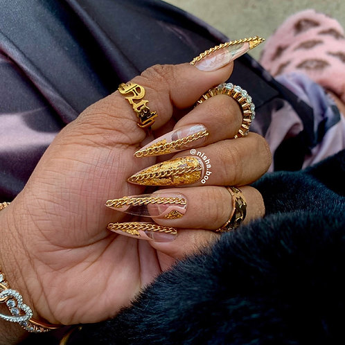 The Luxury & Gold Clawset