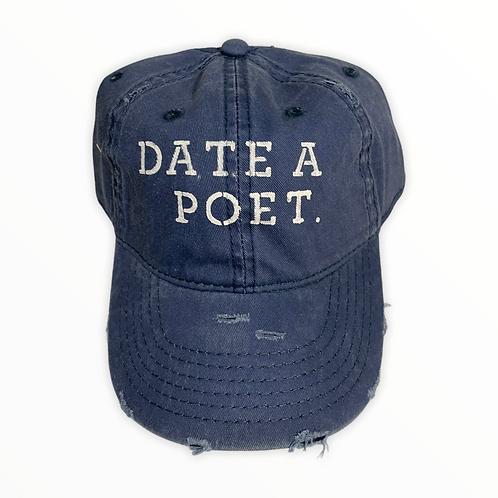 Date A Poet Baseball Cap