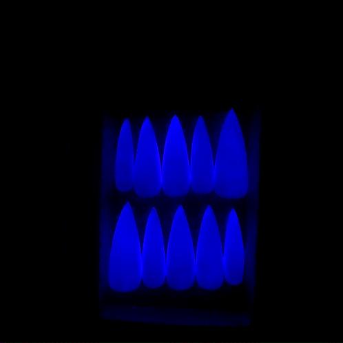 Glow In The Dark Clawset (PINK TO BLUE)