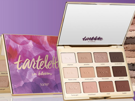 Want to try vegan cosmetics?  Start with Tarte!
