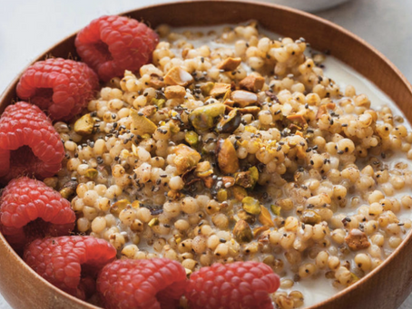 Have you tried sorghum?  Breakfast Bowl Recipe: