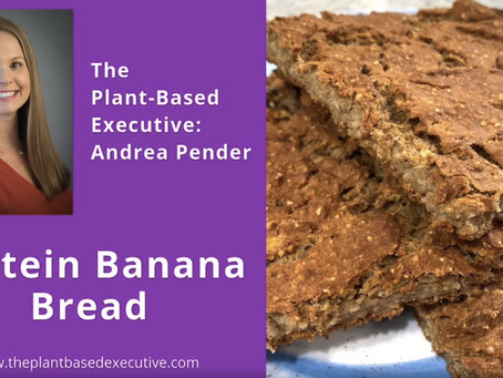 Need more protein in your life?  Protein Banana Bread can help!