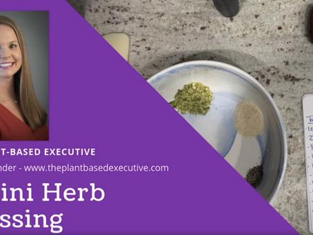Tahini Herb Dressing