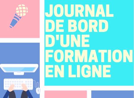 Journal de bord d'une formation en ligne #DESJEPS