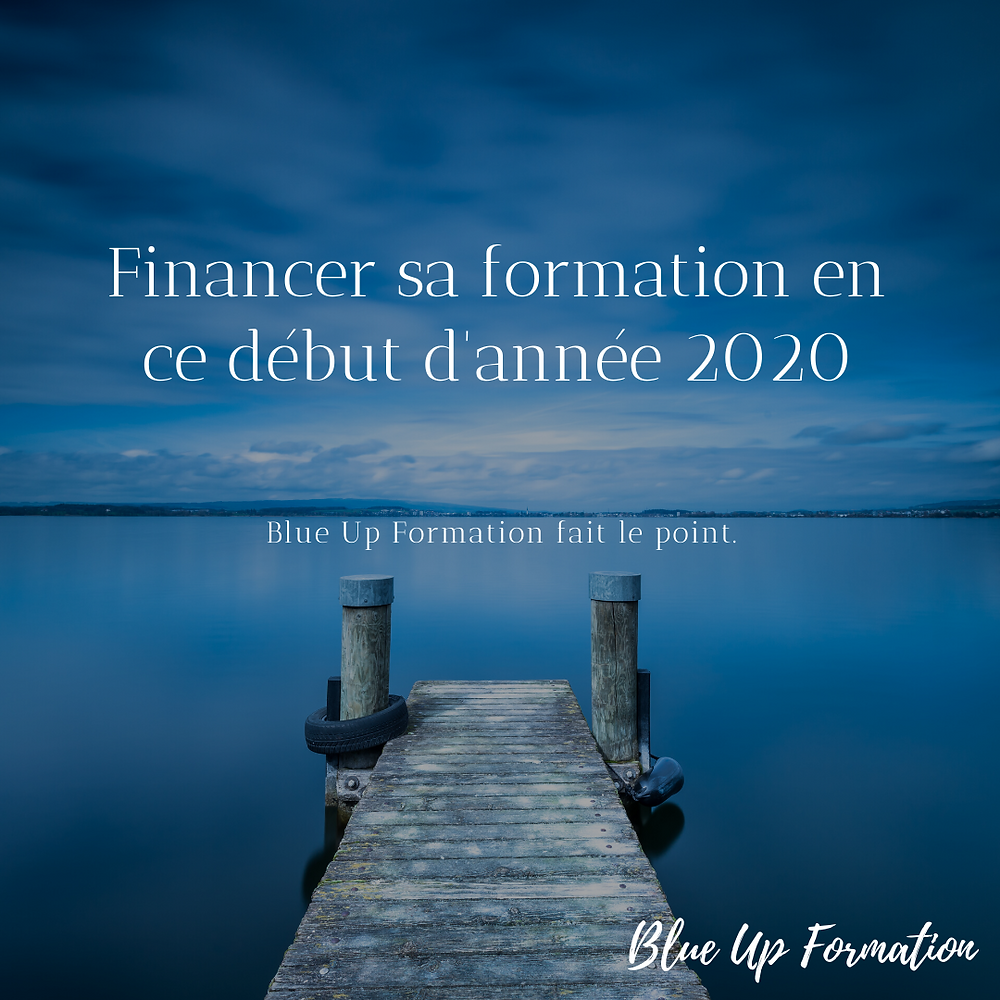 Blue Up Formation financement de la formation 2020