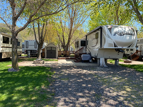 Sports Unlimited Campground Lot N7 2015 Reflections Grand Design