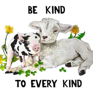 Be kind to every kind painting