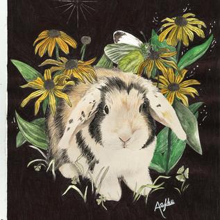 custom pet portrait of Alvin
