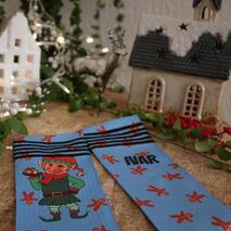 christmas sock design for Sockeloen
