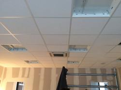 Plaatsen van systeemplafond