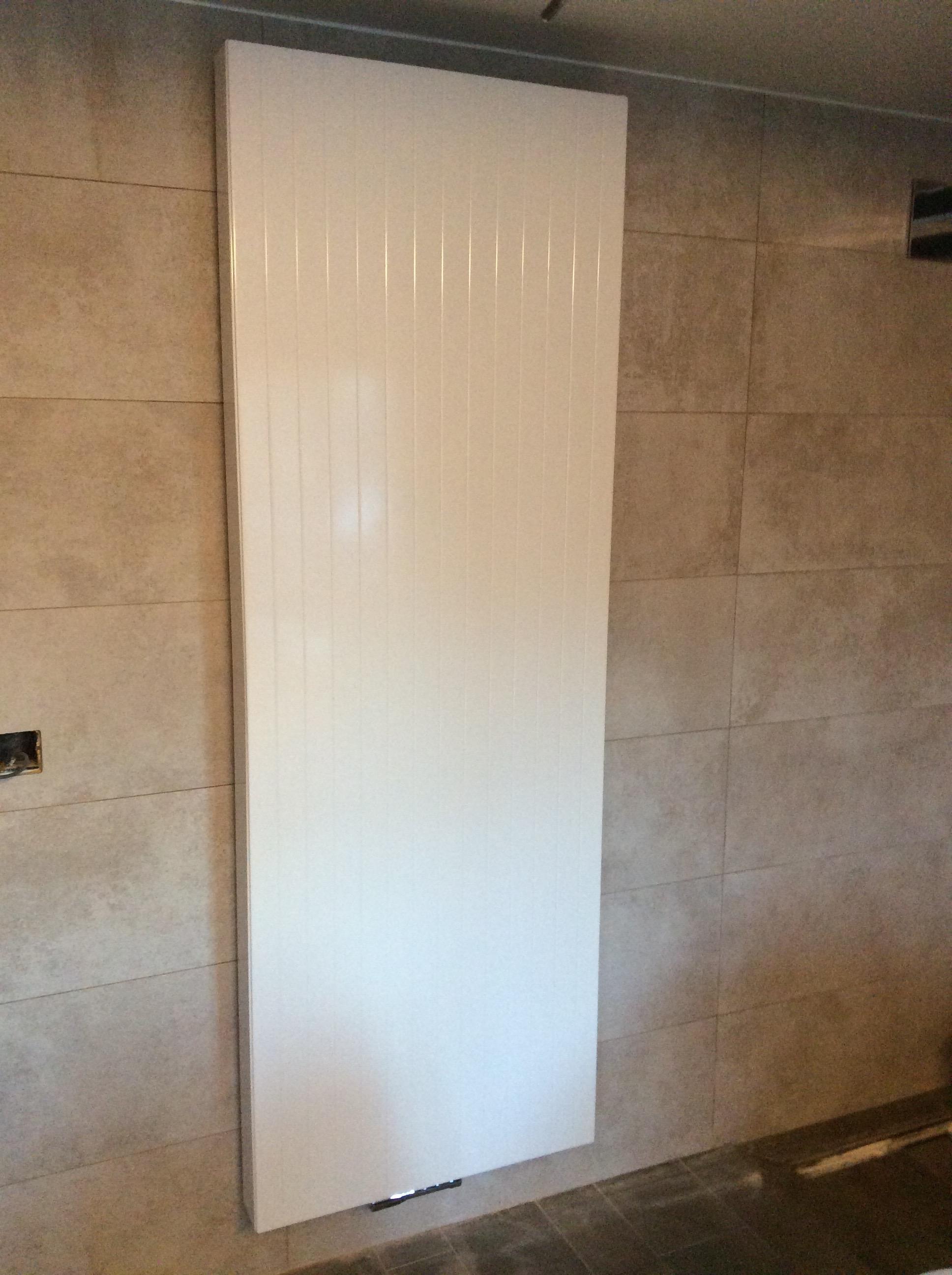 Plaatsen van radiator