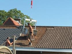Vervangen van dakpannen
