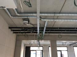 Plaatsen van ventilatiesysteem