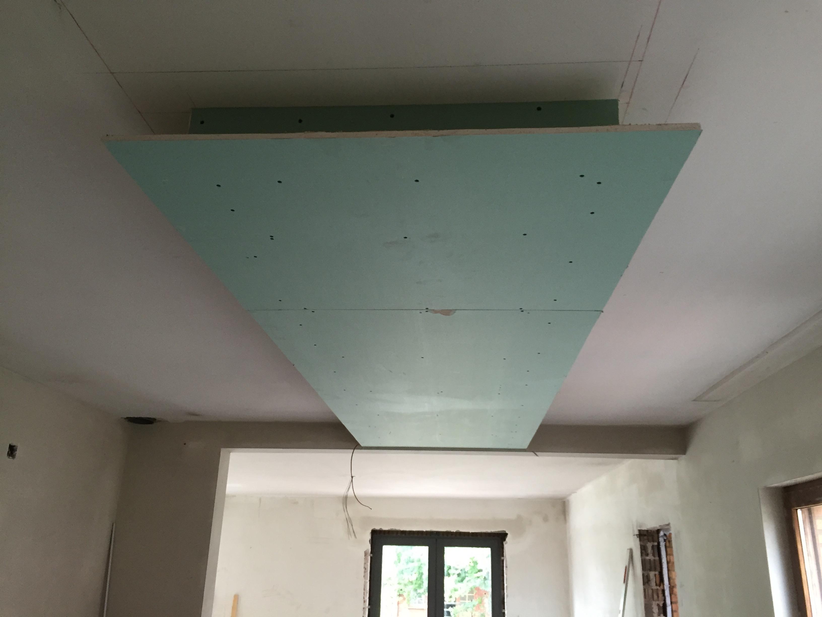 Gyprocplafond keuken