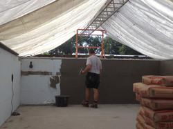 Bezetten met cementbezetting