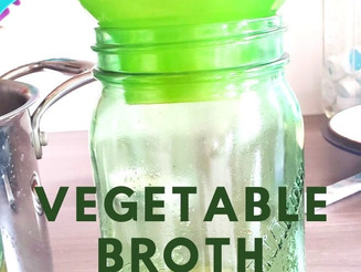 Amy's Easy Vegetable Broth