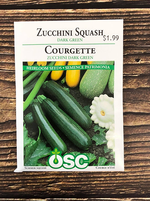 Zucchini Dark Green