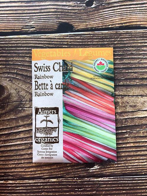 Swiss Chard Rainbow Organic