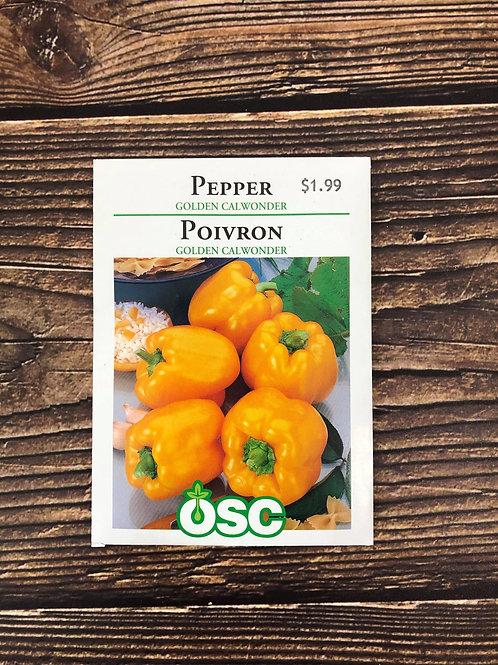Pepper Golden Calwonder