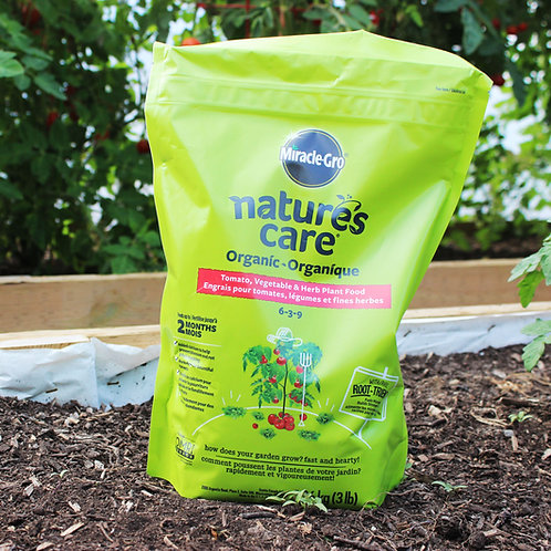 Miracle-Gro Nature's Care Organic Tomato, Vegetable & Herb Plant Food
