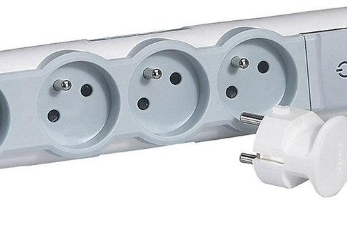 LEGRAND - Rallonge 4X2P+T 3M avec interrupteur