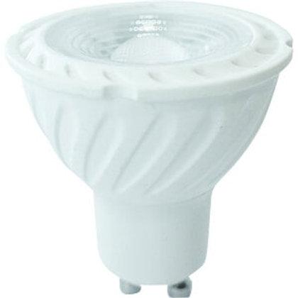 VTAC - Ampoule 6.5W GU10 projecteur ripple en plastique