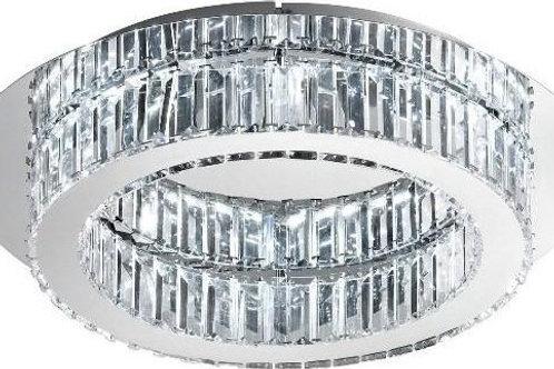 EGLO - LED-CL Ø500 chrome/cristal 'CORLIANO'
