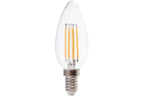 VTAC - Ampoule E14 4W LED filament bougie code couleur : 6000K