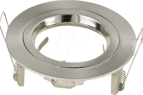VTAC - GU10 fitting rond - satin nickel