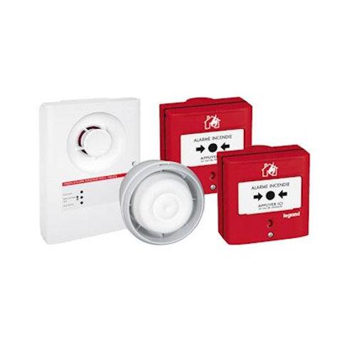 LEGRAND - Prêt-à-poser tableau d'alarme incendie de type4