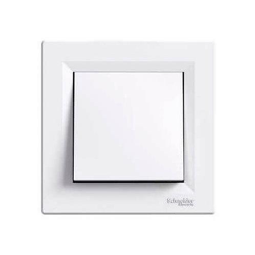 SCHNEIDER - Interrupteur simple blanc ASFORA