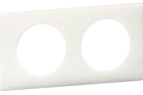 LEGRAND - Plaque 2P Blanc YESTERDAY CELIANE