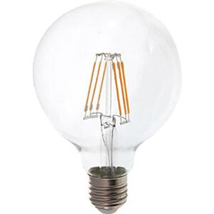VTAC - Ampoule E276W G95 à filamentLED avec puce samsung code couleur: 2700K