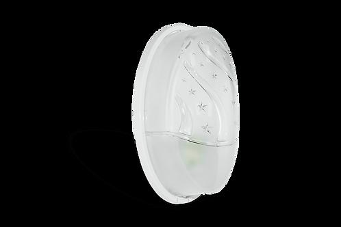 BORSAN - Applique ekota beyaz (IKILI KUTU)