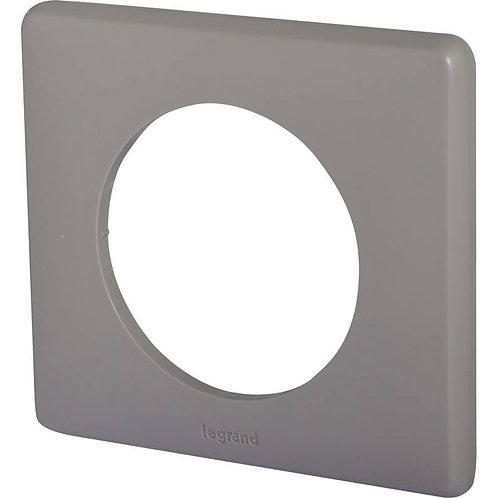 LEGRAND - Plaque simple taupe