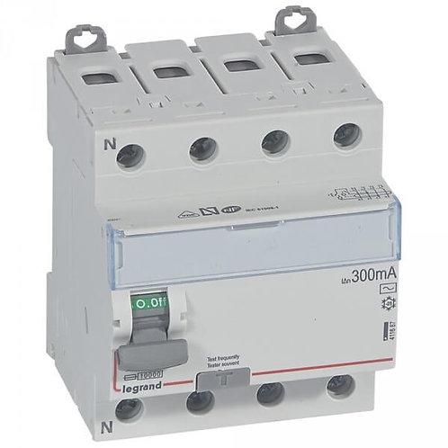 LEGRAND - Interrupteur différentiel 4P 63A 300MA