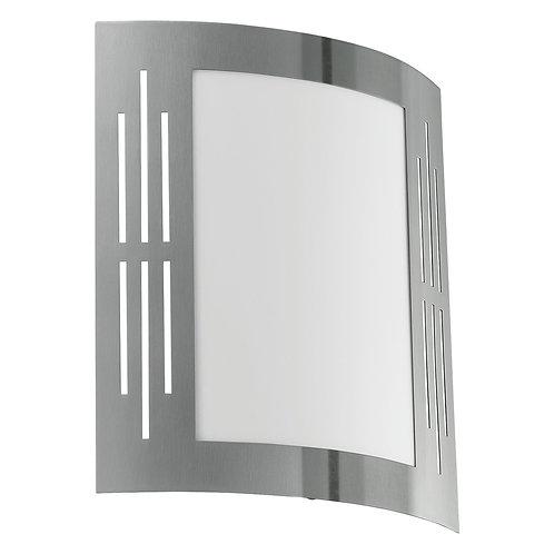 EGLO - CL / 1 acier inoxydable avec fentes 'CITY'