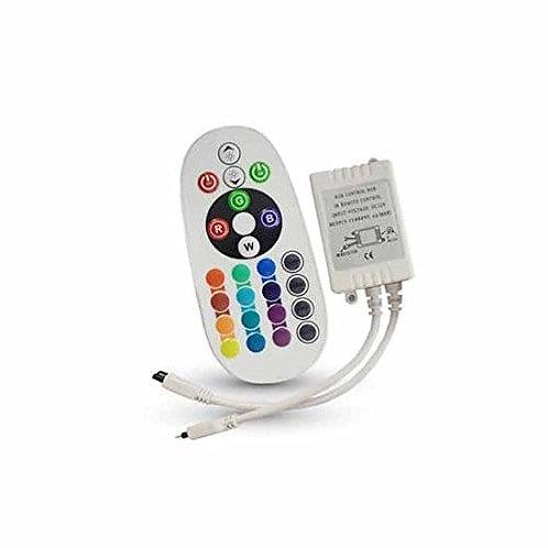 VTAC - Contrôleur infrarouge VT-2472 72W avec télécommande : 24 bouton (ronds)
