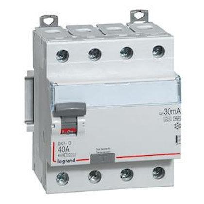 LEGRAND - Interrupteur différentiel 4P 25A 30MA