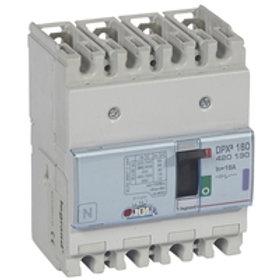 DPX³ 160 disjoncteur mt 4P 16A 50kA - 400V