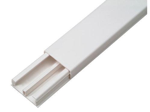 Goulotte DLP 32x12,5 mm 2m blanc