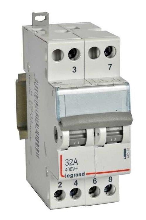 CX3 interrupteur-inverseur double va et vient avec point milieu 32a
