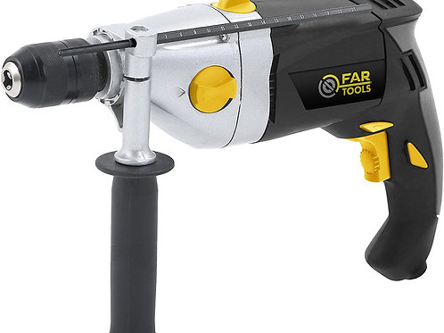 FAR TOOLS -PKP 1200B Perceuse Percussion Puissance  1200 W, Variateur de vitesse