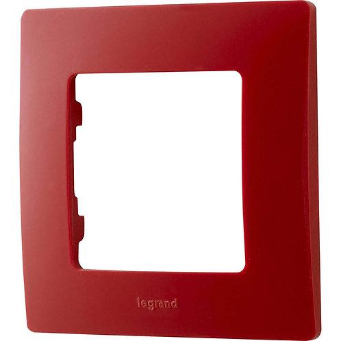 LEGRAND - Plaque simple rouge