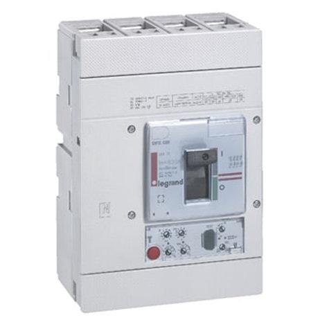 LEGRAND - Disjoncteur compact DPX-630 630A 4P 70kA