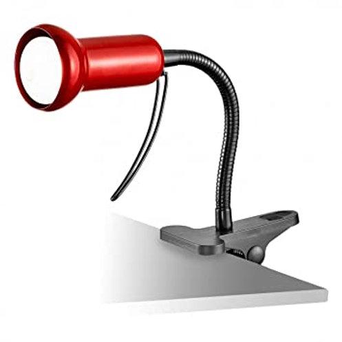 EGLO - lampe à pince / 1 flexible rouge / noir 'FABIO'