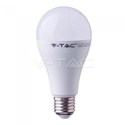 Ampoule LED 17W A65 E27 Plastique 4000K CRI 95+