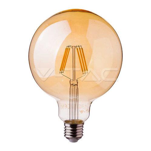 LED Bulb SAMSUNG Chip Filament 6W E27 G95 Amber Cover 2200K