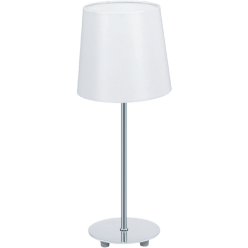 EGLO - TL / 1 E14 chrome / blanc 'LAURITZ'