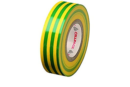 CELLPACK - RUBAN ADHESIF - V/J - ISOLANT ELECTRIQUE PVC